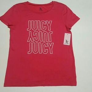 b60f5a6ee88c Juicy Couture Tops - Juicy couture Graphic Tee Shirt Pink